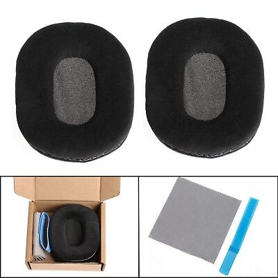 Velour Ear Pads Cushion For Audio-Technica ATH-M40 ATH-M50 ATH-SX1 DJ Headphone