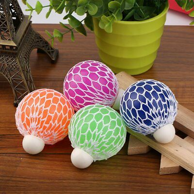 Anti Stress Face Reliever Grape Ball Autism Mood Squeeze Relief ADHD Funny Toy