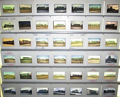 Vintage Lot of 50 1970's era Burlington Northern Original Color Slides #7