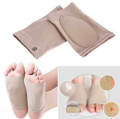 Foot Arch Support Plantar Cushion Fasciitis Care Fallen Arches Heel Pain Relief