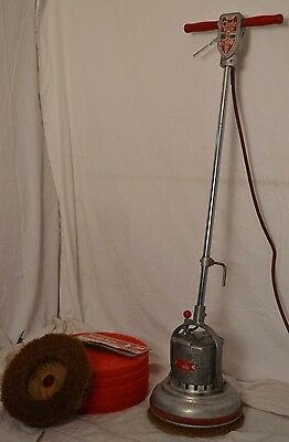 Vintage Clarke FM-12 Floor Maintainer Polisher Scrubber Buffer Scrubber READY!