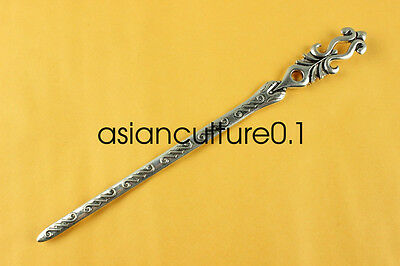 China new noble fashion Tibet silver carving Fancy Hairpin LMQQ122
