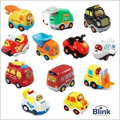 VTech: Toot Toot Drivers Complete Collection (12) (Police Car,Taxi, Jet,Bike etc
