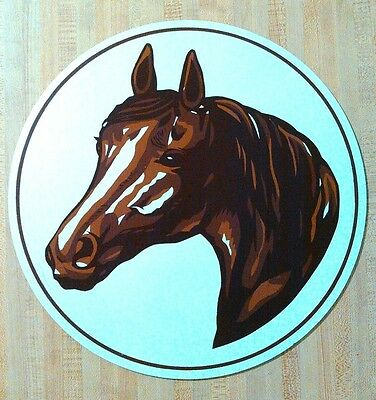 """15"""" Retro Amish Horse & Buggy Hex Sign Barn Decoration Folk Art Made in USA"""