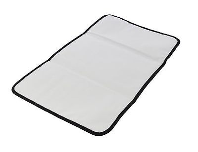Obersee Baby Changing Mat, Black, 1 Pack