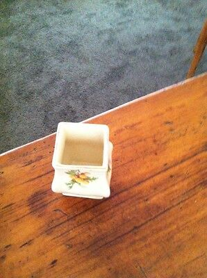 Royal Doulton Miniature Vase Australian Wattle