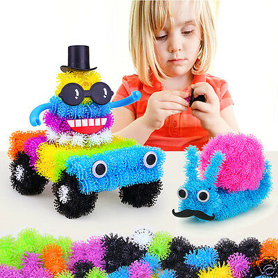 400Pcs Thorn Ball Puffer Ball Children Early Education Building Blocks Toy Gift