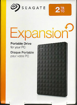 Seagate Expansion Portable USB 3.0 (2TB) externe Festplatte STEA2000400