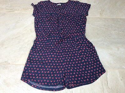 Next girls jumpsuit/playsuit age 12 years strawberry pattern