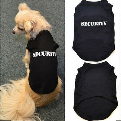 Pet Supplies Dog Puppy Clothing Printing Letters Pure Cotton Vest T-Shirt Tops