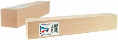 Midwest Products 4420 Micro-Cut Quality Basswood Block Bundle, 2 by 2 by 12-Inch
