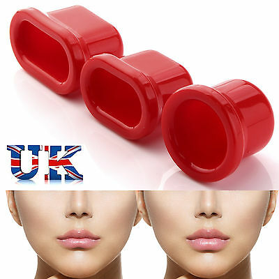 2017 New Lip Plumping Enhancer Pump for Plumper Pout Full Lips Suction Device UK