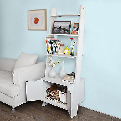 SoBuy® Wall Shelf Cabinet, Bookcase, Storage Display Shelving Unit FRG110-W, UK
