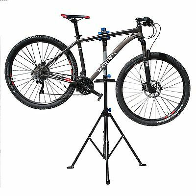 Folding Bicycle Maintenance Repair Stand Pedal Bike Cycle Mechanic Workshop Rack