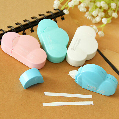 4pcs Cute Clouds Correction Tape Decorative School Office Supply Stationery Tape