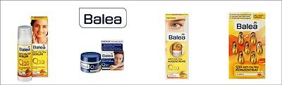 Balea Anti-wrinkle Eye Cream Serum Day & Night Face cream Q10 Concentrate