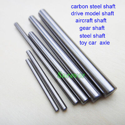 5PCS Carbon steel shaft Rod drive model axle/aircraft/Gear shaft 4WD Car Parts
