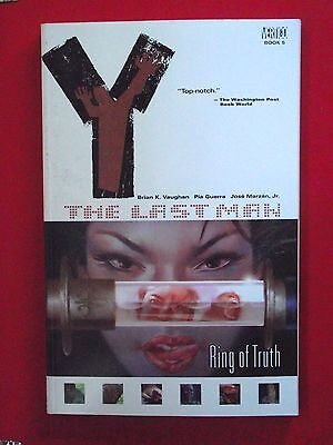 "Y The Last Man: Vol 5  ""Ring of Truth"": 1st Edition Paperback– 26 Jul 2005"