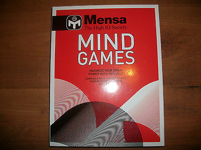 Mensa High IQ Society Mind Games Pack to Maximise your Brain Power