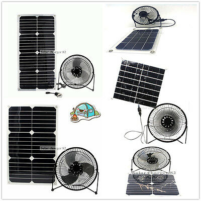 solar Panel fan  4w 6w 11w 12w 20W 24w sunpower for Home free power ventilation