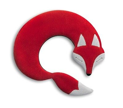 Red Noah Fox Unscented Anti-allergenic Fleece Heatable Neck Warmer Pillow
