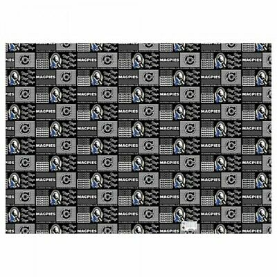Collingwood Magpies Official AFL Wrapping Paper Giftwrap FREE POST