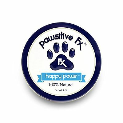 PawsitiveFX Happy Paws All Natural Hemp Seed Oil Paw Balm for Dogs. 2 Ounce Tin.