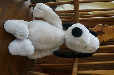 """Big Snoopy Vintage 1968 Stuffed Animal Plush Toy 20"""" Tall Peanuts Collectible"""