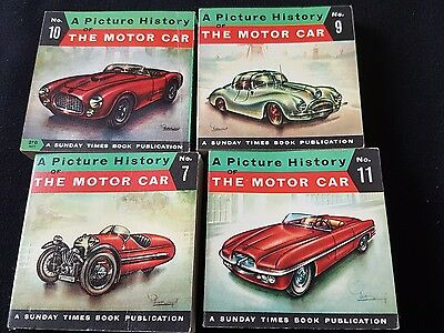 4 PICTURE HISTORY OF THE MOTOR CAR A SUNDAY TIMES BOOK PUBLICATION by PIET OLY