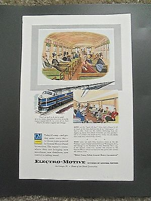 1949 Print Ad Electro-Motive Division Of Gm""