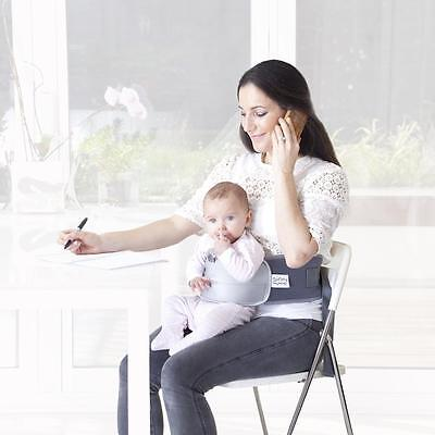 Lap Baby – Hands Free Babywearing Harness, Lap Harness Highchair Weaning Aid