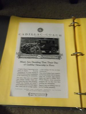 """Print Ad """" Cadillac-Coach Many Are Deciding That Their Day Of Cadillac Is Here"""