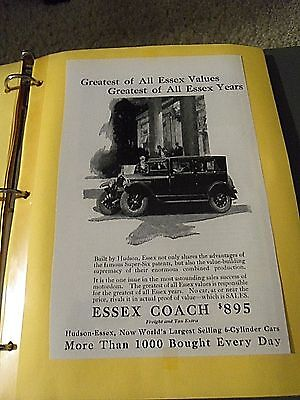"""Print Ad """" Essex Coach $895- Greatet Of All Essex Values"""