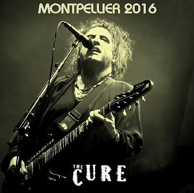 THE CURE Live MONTPELLIER FRANCE 2016 2 CD