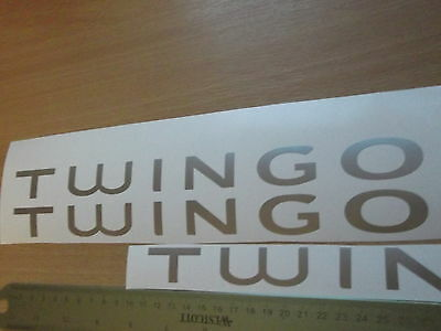 Renault Twingo  rear  stickers Alternative/replacement