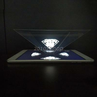 3D Hologramm Pyramide Projektion Holographic Für 6,5 - 12 inch Tablet iPad