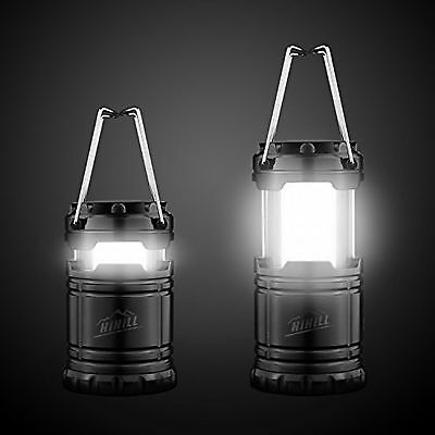 Camping Light HiHiLL Bright Portable Camping Lantern Flashlights with 30 LED ...