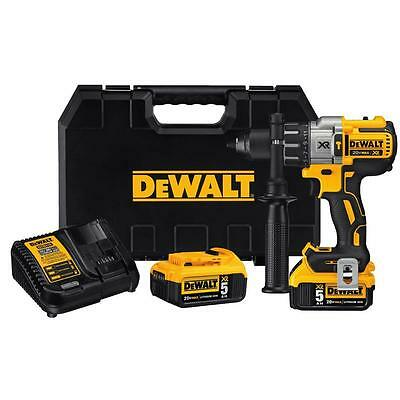 DEWALT DCD996P2 20V MAX* XR Li-Ion Brushless 3-speed Hammer Drill Kit (5 AH)