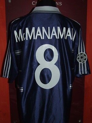 McMANAMAN REAL MADRID 1998/99 MAGLIA SHIRT CALCIO FOOTBALL MAILLOT JERSEY SOCCER