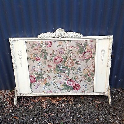 Vintage Quilted fire screen