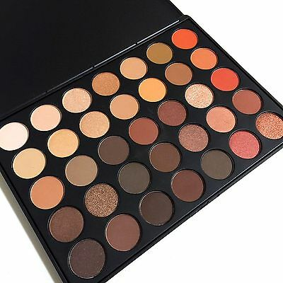 Genuine Morphe Brushes 350 35F Nature Glow Eyeshadow Makeup Palette Set - Boxed