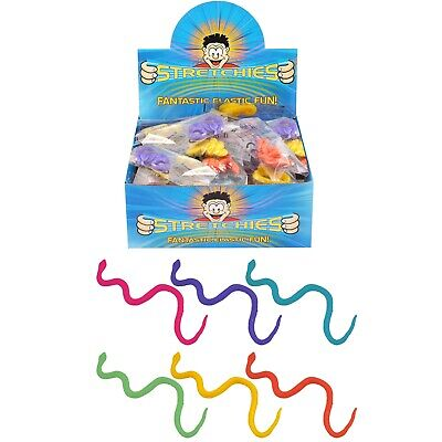 Stretchy Snakes for Childrens Party Loot Bags Pinata Fillers Kids Party Favour