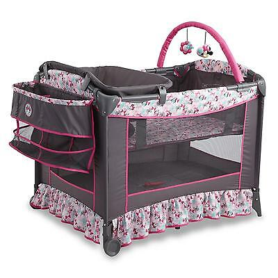 Crib Bassinet Baby Playpen Playard Infant Portable Travel Play Bed Pack Nursery