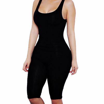Women Playsuit Romper Clubwear Jumpsuit Bandage Bodycon Party Summer Trousers