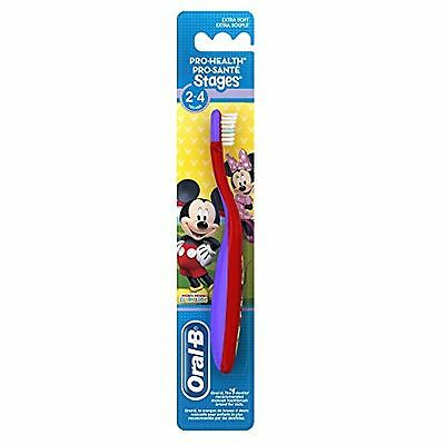 Oral B Pro-Health Stages 2-4 Years Extra Soft Bristles Mickey Mouse Toothbrush