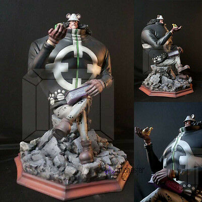 NEW One Piece Shichibukai Sitting position Bartholemew·Kuma resin statue figure