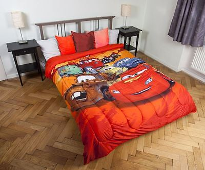 Disney Cars Quilted Bedspread 180 x 260 CM By BestTrend