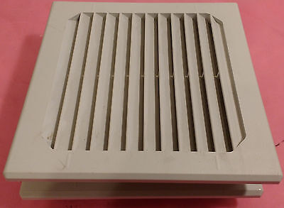 "Lot of 2 McLean Air Filter Exhaust Grate, 4-7/8x4-7/8"" Hole, 5-7/8x5-7/8"" Cover"