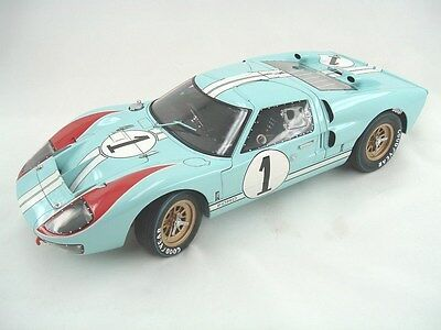 EXOTO 1966 FORD GT40 MKII  24 hours of LeMans 1:10 scale Diecast replica