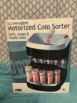 AccuWrapper Motorized Coin Sorter Change Counter